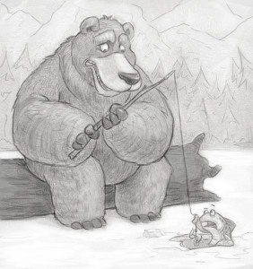 bearfishing